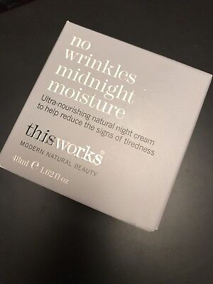 This Works No Wrinkles Midnight Moisture - Women's For Her. New. Free Shipping