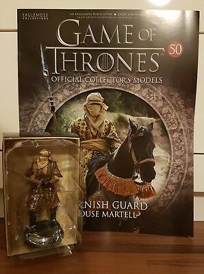 Game of Thrones Sammelfiguren Nr. 50 Dornish Guard Eaglemoss engl.