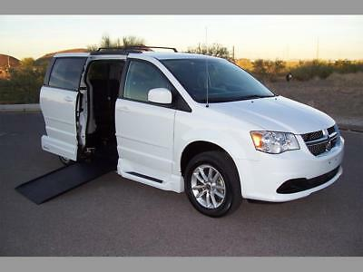 2014 Dodge Grand Caravan SXT Wheelchair Handicap Mobility Van 2014 Dodge Grand Caravan SXT Wheelchair Handicap Mobility Van Transfer Seat