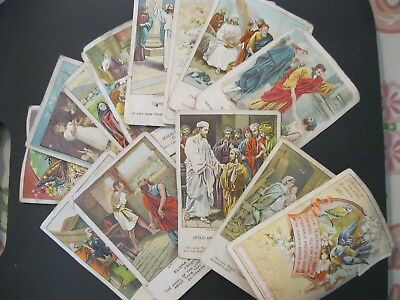 Victorian Trade Card 1897 Heidelberg Picture Cards RELIGIOUS Christian Bible 37