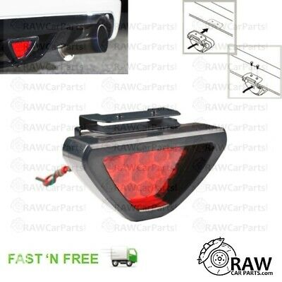 LED Red Rear Fog Light 12v Lamp for JDM ie Pulsar Glanza Skyline Impreza 200SX