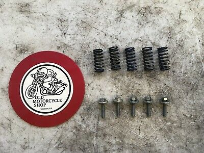 1981 Yamaha Mx175H Clutch Pack Screws And Springs Complete Set Oem