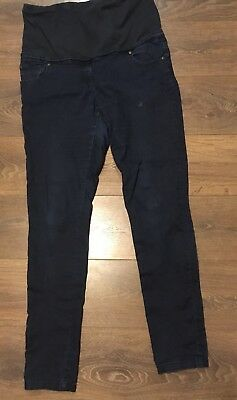 Dorthy Perkins Maternity Jeans Size 12 Over The Bump Good Condition