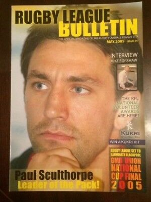 Rugby League Bulletin May 2005 Issue 34 RFL, Super League