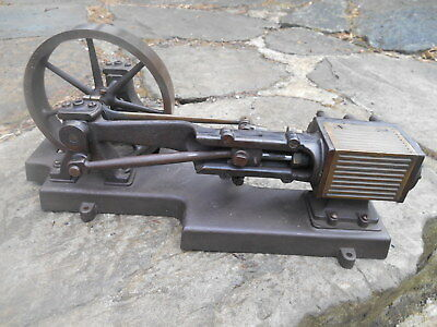 Antique Sipp 1/4 HP Horizontal Steam Engine - Restoration Project