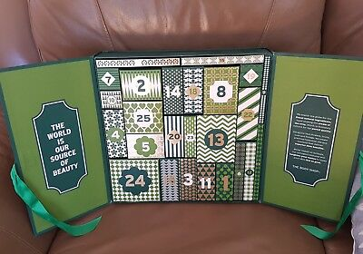 The Body Shop Christmas Advent Calendar Box - Empty no products included