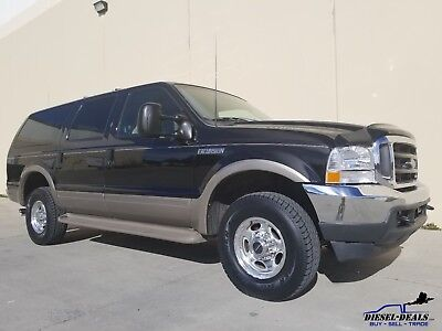 2000 Ford Excursion LIMITED CLEAN RUST FREE 2000 FORD EXCURSION LIMITED 4X4 7.3 POWERSTROKE TURBO DIESEL 02
