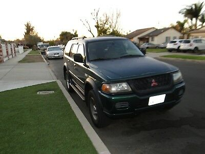 2001 Mitsubishi Montero  Mitsubishi Montero Sport V6 Clean Title.  Runs and works great!