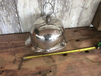 Antique Prussian Style Military Helmet , Metal , Damaged , Non Magnetic Metal