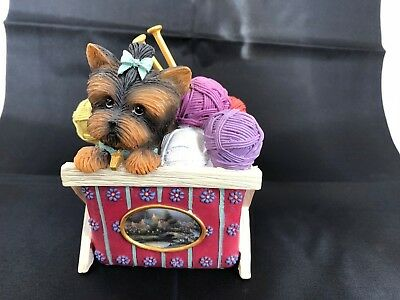 Thomas Kinkade Little Shopkeepers Collection - Yorkie