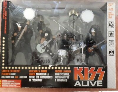 Mcfarlane KISS ALIVE Boxed Set Limited Edition 2002