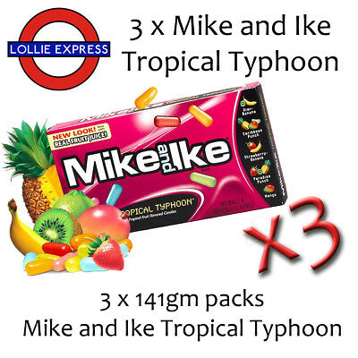 Mike and Ike Tropical Typhoon 3 Pack Deal!!!!