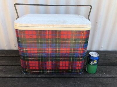 Retro Willow Cooler Tartan Pattern GC Holden Ford Valiant VW Pick Up Melbourne
