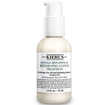 New Kiehl's Since 1851 Womens Damage-Repairing & Rehydrating Leave-In Treatment