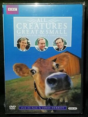 All Creatures Great & Small The Complete Series 4 Collection BBC 3-DVD Set