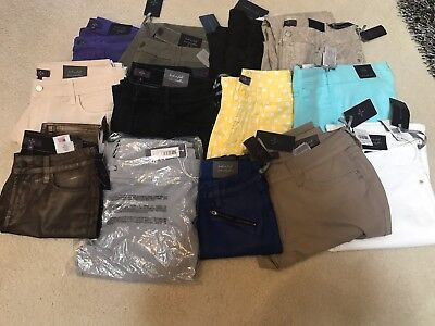 NWT NYDJ Not Your Daughters Jeans WHOLESALE LOT of 100 Pants Leggings Petite/Reg