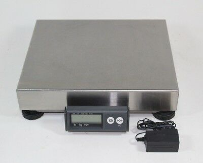 Mettler Toledo PS60 Shipping Parcel Scale 150lb x 0.05lb RS232 - NO USB - Steel