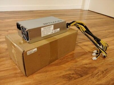 Brand New - GENUINE Bitmain APW3++ 1600W Power Supply - Antminer A3 D3 L3+ S9 T9