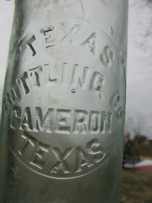 Texas Bottling Works Bottle (Cameron, Texas) OLD