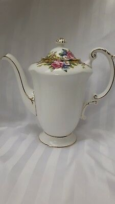 Paragon Tapestry Rose Coffee Tea Pot