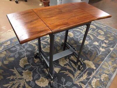 Vintage Hi Low Typewriter Table