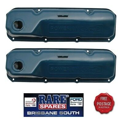 Tappet Covers Powered By Ford Brand New Suit Xw Xy Xa Xb Xc Xd Cleveland 302 351