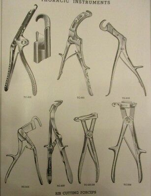 1948 Antique Medical Devices; V Mueller and Co Catalog: Surgical Equipment Book