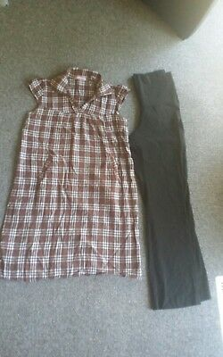 Maternity clothing dress and pants size  8 - 10