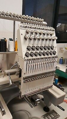 Commercial Embroidery TOPWISDOM -1501C Embroidery Machine 1 head 15 Needle