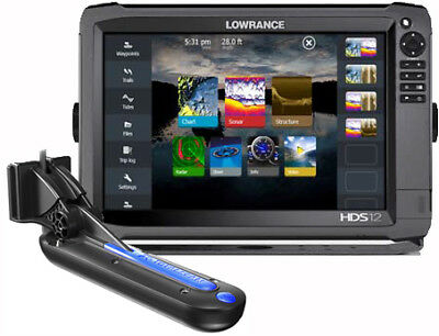 LOWRANCE HDS12 GEN3 with TOTALSCAN TRANSDUCER  ***FREIGHT FREE***