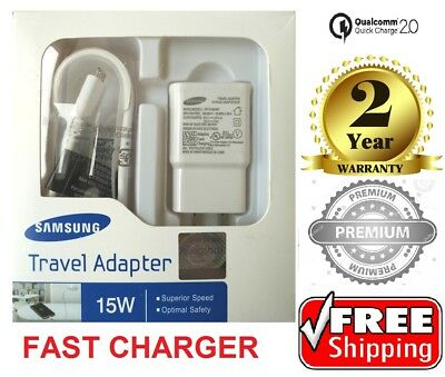 Samsung Galaxy NOTE 4- NOTE Edge Fast Wall Charger EP TA20JWE 5ft Original US
