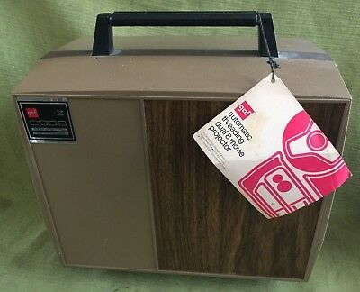 Vintage Gaf 2388 Automatic Load Dual 8Mm Movie Projector