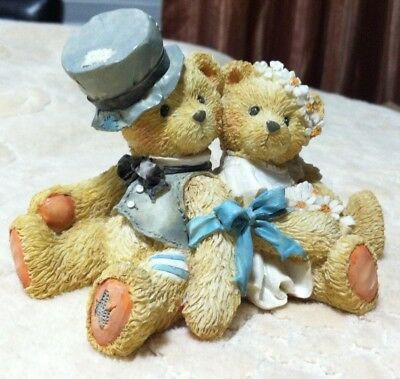 "Cherished Teddies: Robbie and Rachel  ""Love Bears All Things"""
