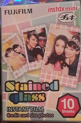 Fujifilm Instax Stained Glass Instant Film (10 Color Prints)