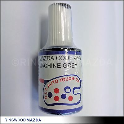NEW Mazda Touch Up Paint - 46G Machine Grey Mazda 2 3 6 CX3 CX5 CX7 CX9 MX5 BT50