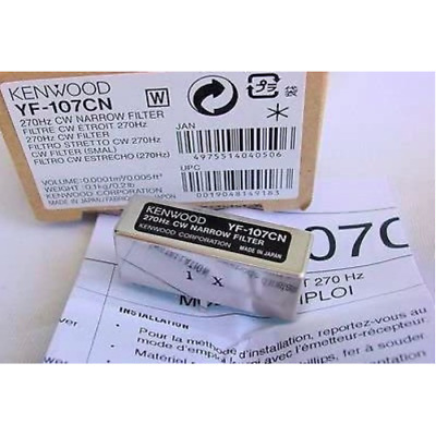 Kenwood YF-107CN 270Hz CW Narrow Filter for TS-480 Made in Japan F/S New