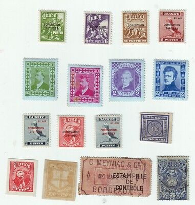 Old World * Local Bob == 16 ==  Foreign  Used&mint Unsorted