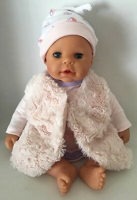 Zapf Creation Baby Born Crying Cooing Doll, Closes Eyes