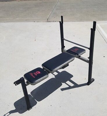 Multi-Station Weight Bench Weights Home Gym bench press