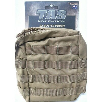 Tas Khaki Large 3374 Molle Multi Purp Pouch / Holds 2Lt Sa Canteen