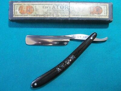 "A German Straight Razor Manufactured by ERN ""ATOR"" (No82)"