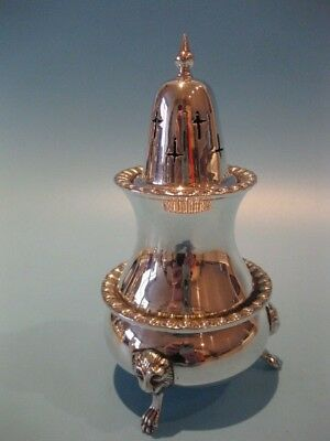 Stunning Antique Victorian Style Silver Plated Muffineer Sugar Caster / Shaker