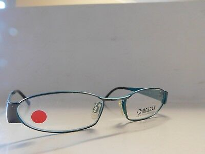 9c897bab3ba Genuine Morgan 203065-181 Gun   Aqua Spectacles Eyeglasses Glasses Frames  635J