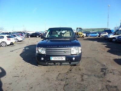 2004 Range Rover Vogue Td6 Auto 3.0 Diesel Spares Or Repairs No Mot Hpi Clear