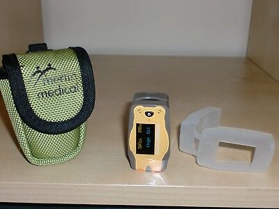 Childrens/Paediatric Teddy Fingertip Pulse Oximeter SpO2 SATS Monitor