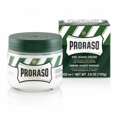 Proraso Pre & After Shave Cream 100ml with Eucalyptus and Menthol