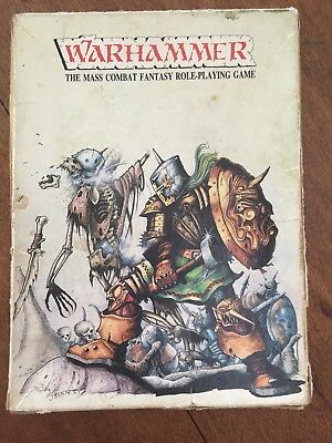 Warhammer First Edition complete Oldhammer OOP Rare