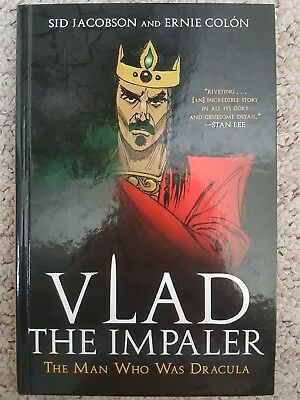 Vlad The Impaler: The Man Who Was Dracula, Hardback Graphic Novel, Sid Jacobson