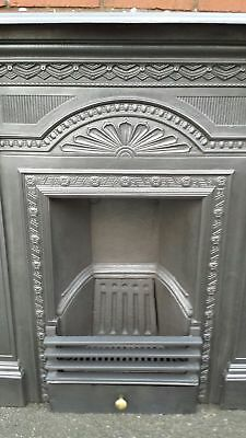 Victorian cast iron fireplace complete bedroom living room