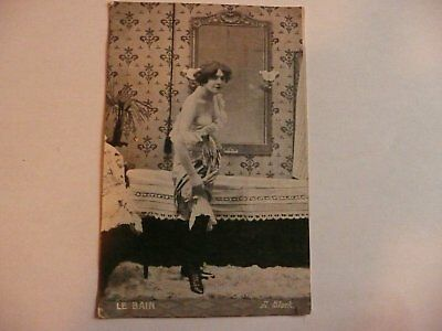 Carte postale 1900 erotique
